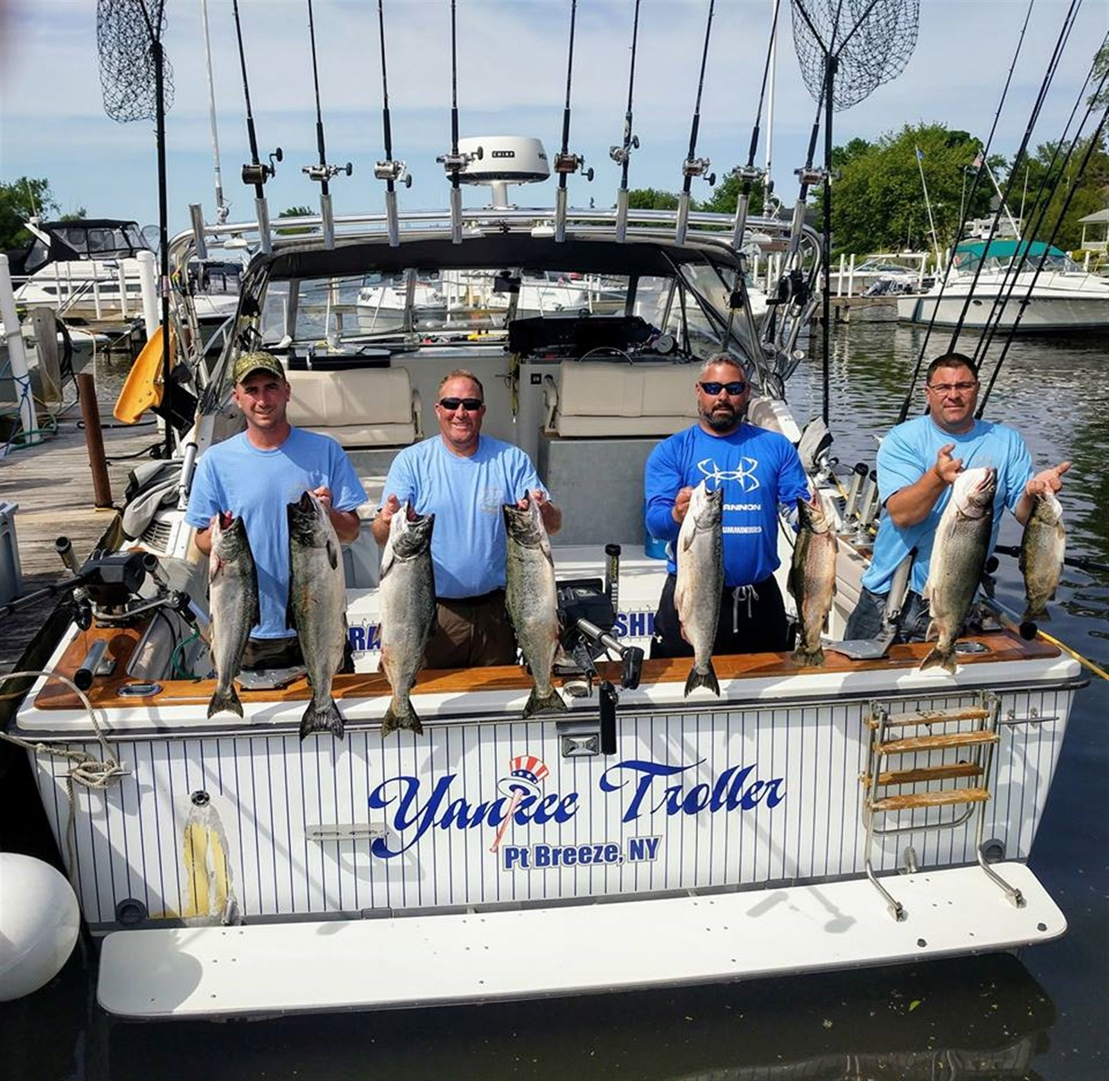 Yankee Troller, led by Capt. Richard Hajecki of Rochester, came from behind to win the Orleans County Open Tournament out of Point Breeze last weekend.