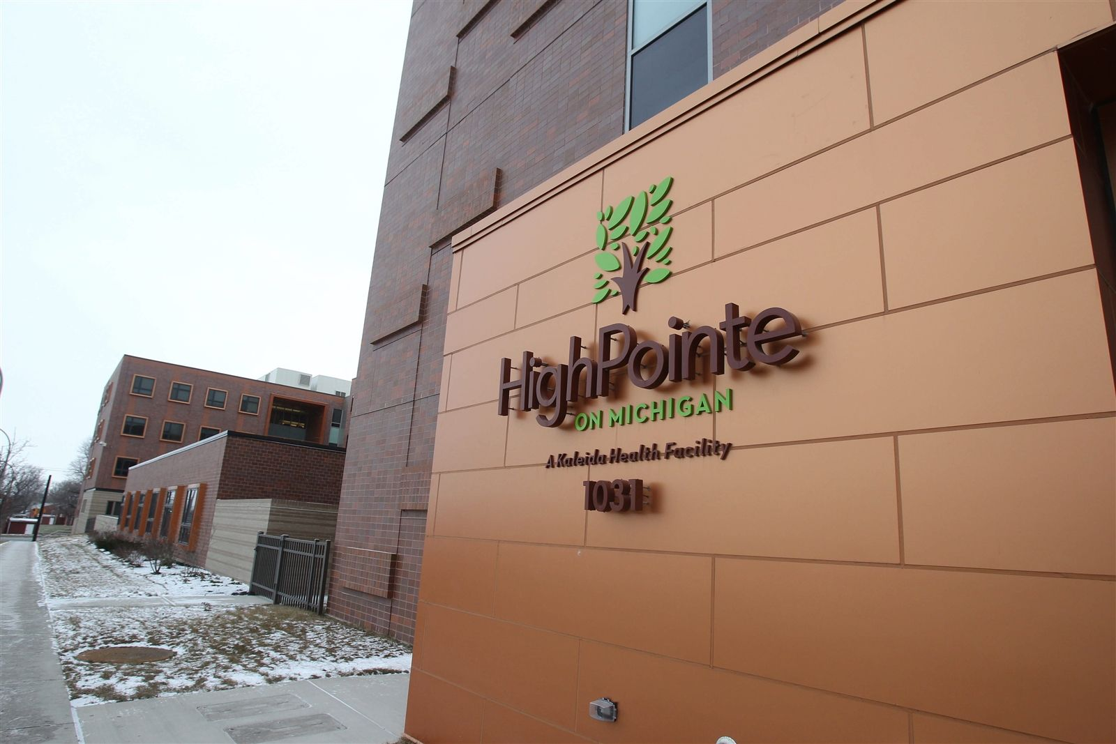 HighPointe on Michigan, at 1031 Michigan Ave. in Buffalo, is owned by Kaleida Health. The state Attorney General's Office put a hidden camera in Larry Myers' room at HighPointe in 2013 to see if HighPointe's staff was feeding him and taking care of him.