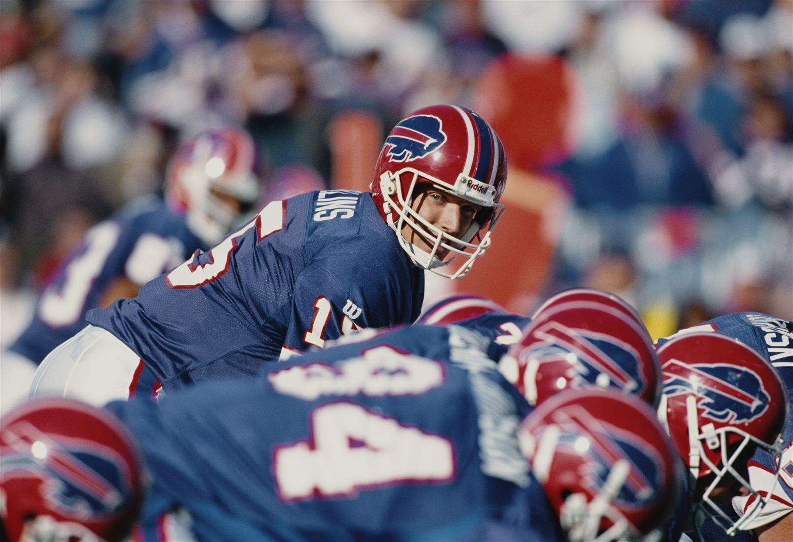 Todd Collins, 1995-97: 28 games, 17 starts (7-10) ... 54.7 comp. pct. ... 3,218 yards (6.2 per att.) ... 16 TDs ... 19 INTs.
