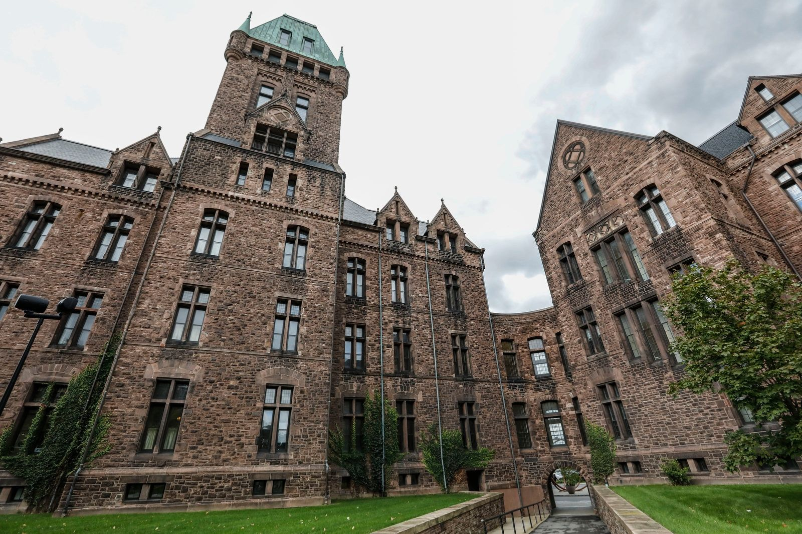 Hotel Henry at the Richardson Olmsted Campus. The onetime Buffalo State Asylum for the Insane was designed by H.H. Richardson, considered one of the country's greatest architects. The hotel wants to expand into two additional buildings, increasing the number of rooms from 88 to 124.
