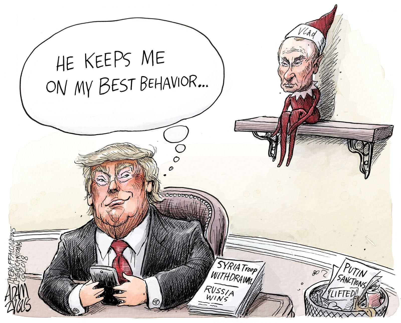 Kremlin on the shelf: December 20, 2018