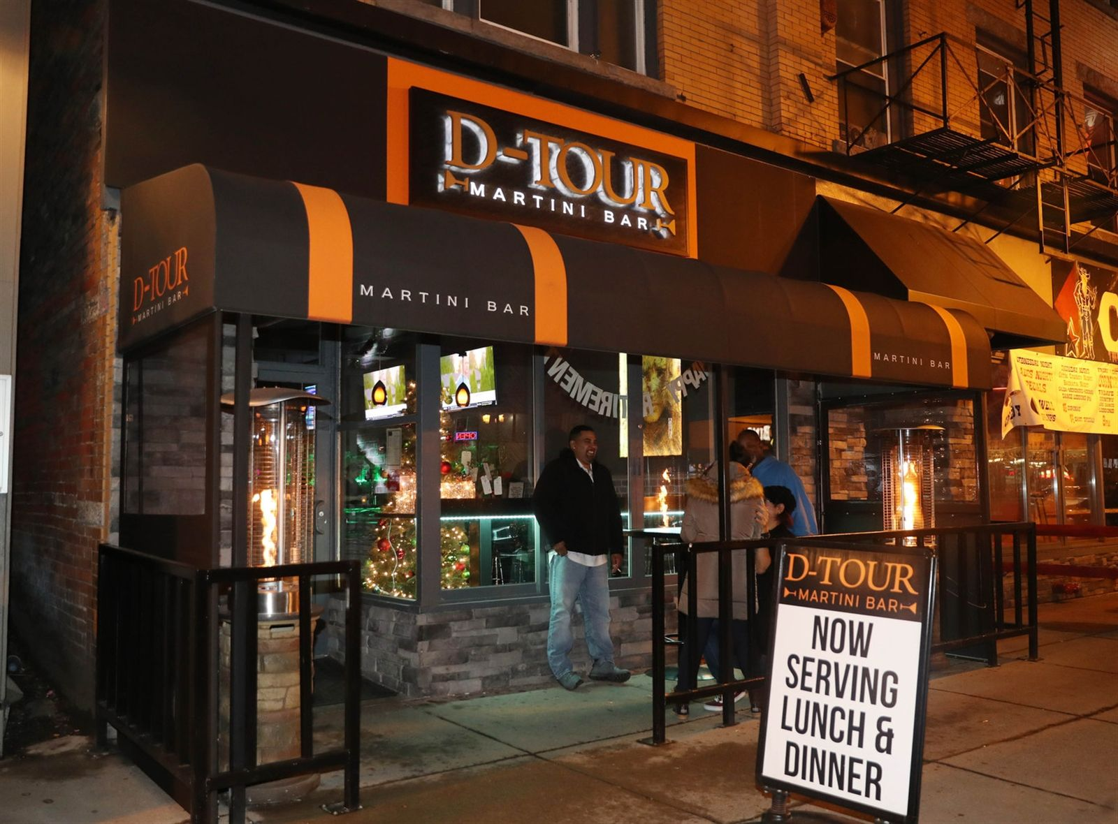 D-Tour Martini Bar is at 49 W. Chippewa St. in Buffalo.