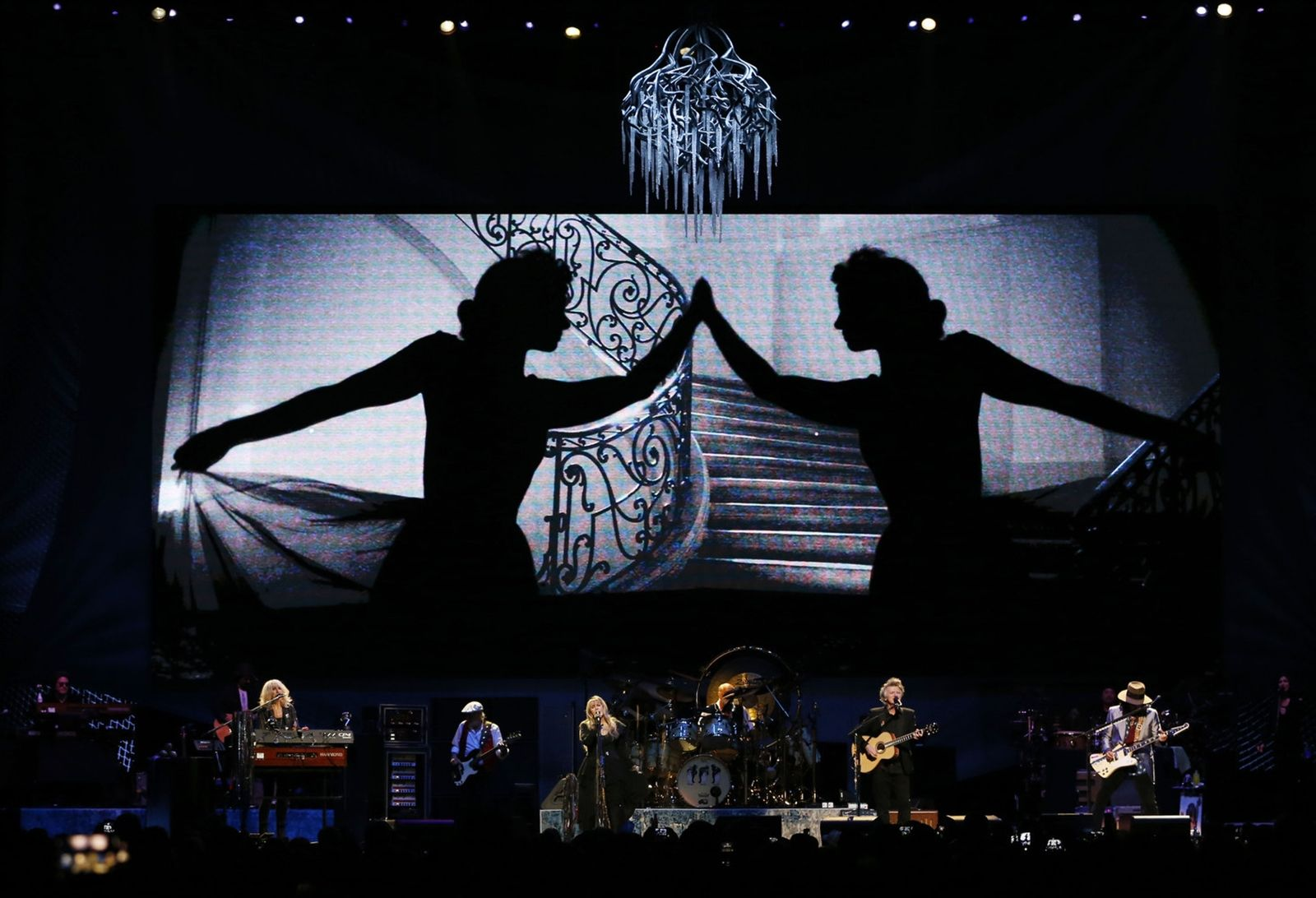 Fleetwood Mac performs.