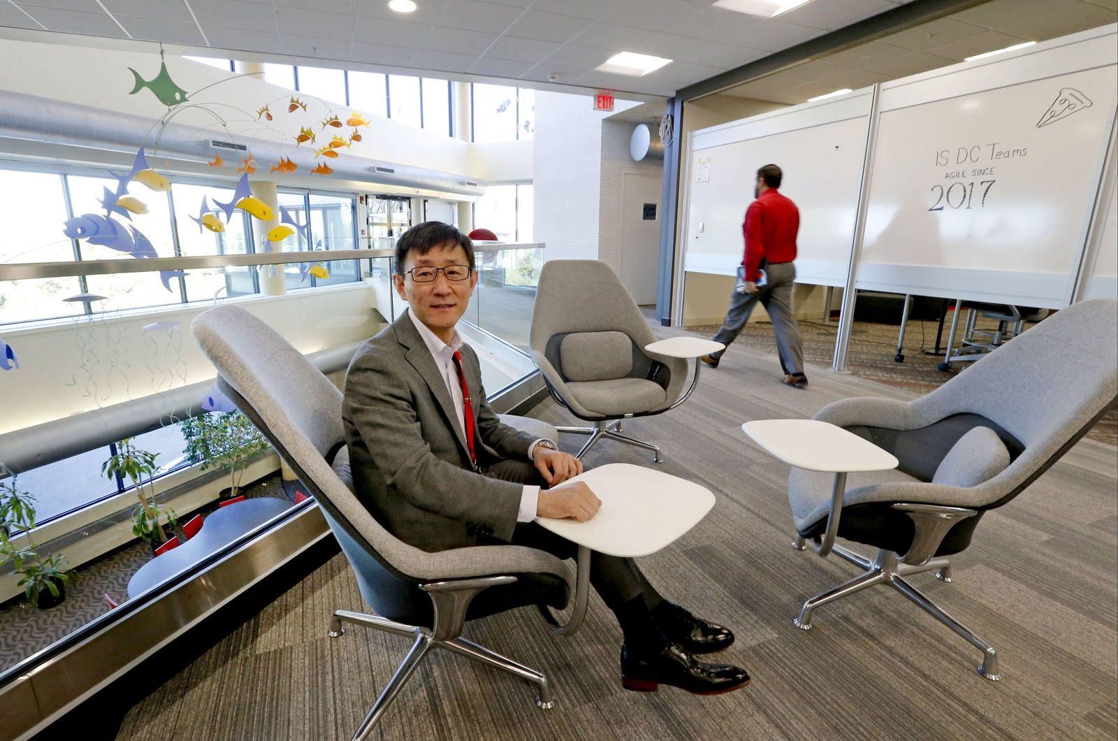 Yexi Liu, CIO, at Rich Products.
