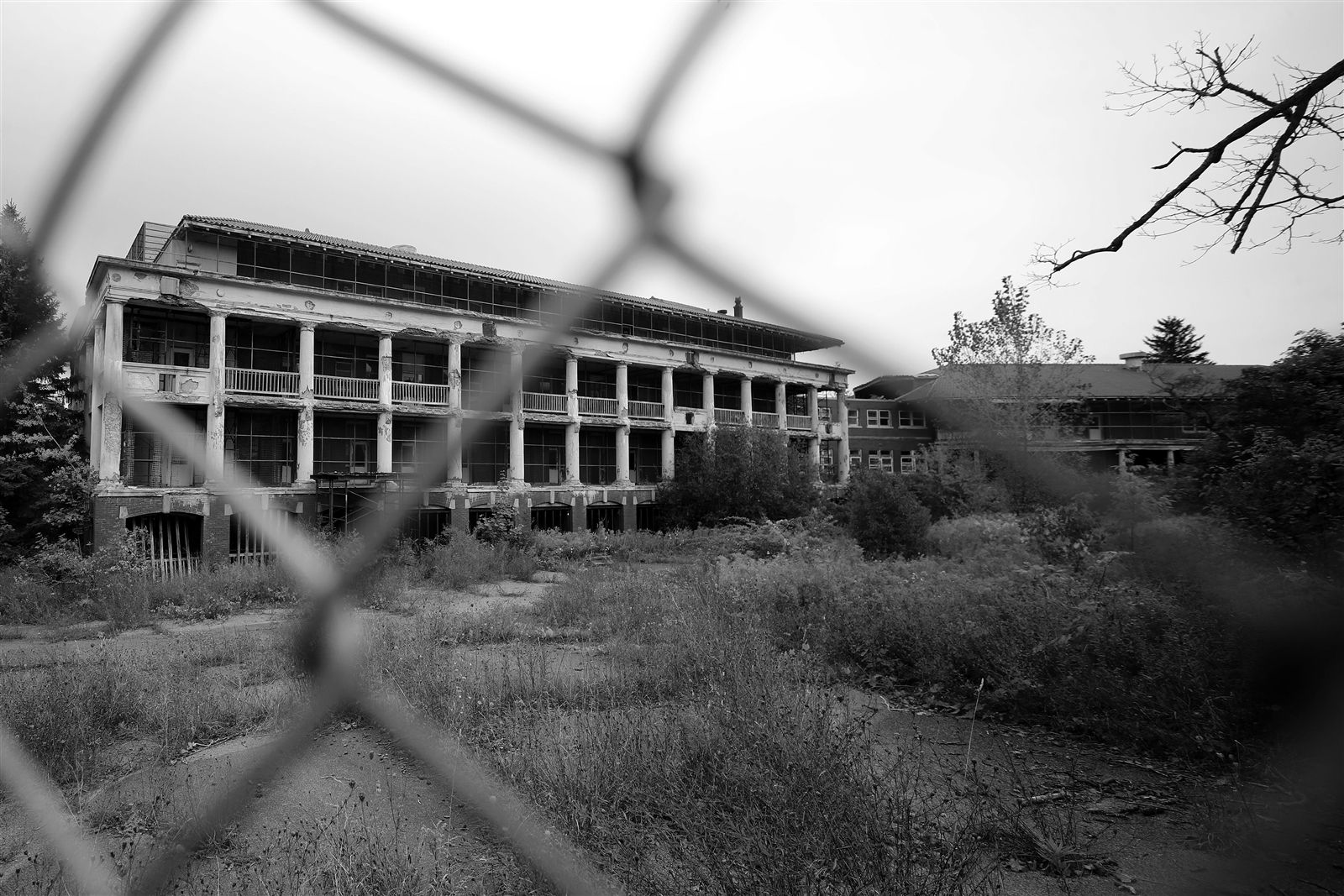 An abandoned former tuberculosis hospital in Perrysburg has been said to be haunted for decades. Opened in 1912, the J.N. Adam Memorial Hospital closed in 1960 and was used as a facility for the developmentally disabled until it closed in 1995.